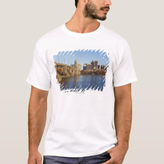 USA, Massachusetts, Boston skyline 2 T-Shirt