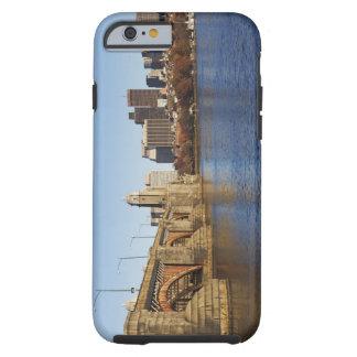USA, Massachusetts, Boston skyline 2 Tough iPhone 6 Case