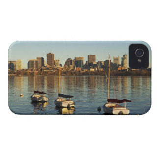 USA, Massachusetts, Boston skyline 3 Case-Mate iPhone 4 Case