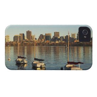 USA, Massachusetts, Boston skyline 3 iPhone 4 Cover