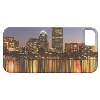 USA, Massachusetts, Boston skyline at dusk 2 iPhone 5 Covers