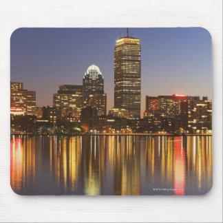 USA, Massachusetts, Boston skyline at dusk 2 Mouse Pad