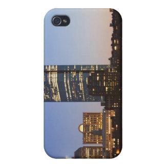 USA, Massachusetts, Boston skyline at dusk iPhone 4/4S Cover
