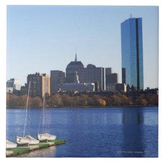 USA, Massachusetts, Boston skyline Tile