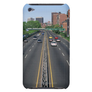 USA, Massachusetts, Boston, traffic on Storrow Barely There iPod Covers
