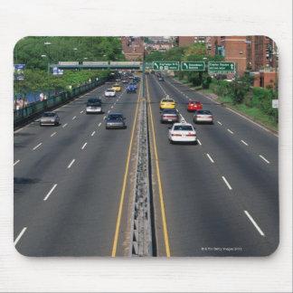 USA, Massachusetts, Boston, traffic on Storrow Mouse Mat