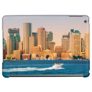 USA, Massachusetts. Boston Waterfront Panorama