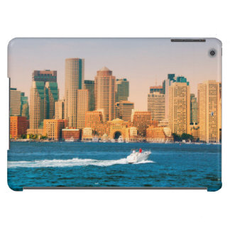 USA, Massachusetts. Boston Waterfront Panorama Case For iPad Air