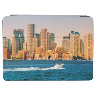 USA, Massachusetts. Boston Waterfront Panorama iPad Air Cover