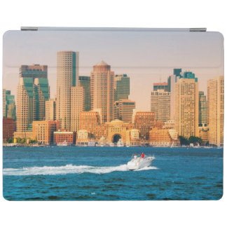 USA, Massachusetts. Boston Waterfront Panorama iPad Cover