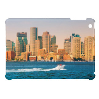 USA, Massachusetts. Boston Waterfront Panorama iPad Mini Cases