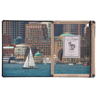 USA, Massachusetts. Boston Waterfront Skyline 2 iPad Case