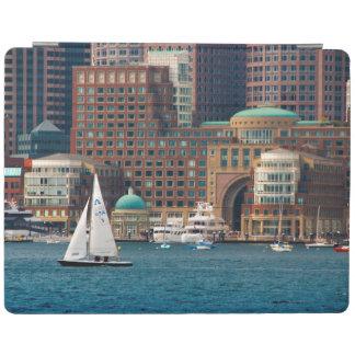 USA, Massachusetts. Boston Waterfront Skyline 2 iPad Cover