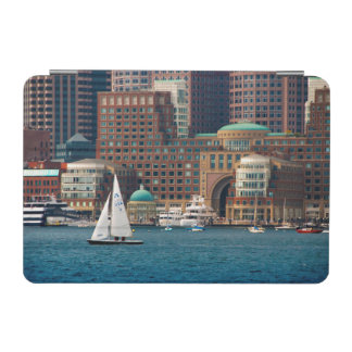 USA, Massachusetts. Boston Waterfront Skyline 2 iPad Mini Cover