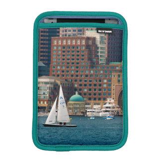 USA, Massachusetts. Boston Waterfront Skyline 2 iPad Mini Sleeve