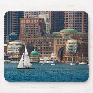USA, Massachusetts. Boston Waterfront Skyline 2 Mouse Mat