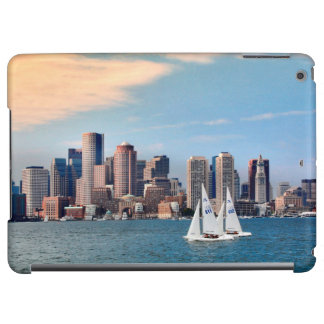 USA, Massachusetts. Boston Waterfront Skyline 3
