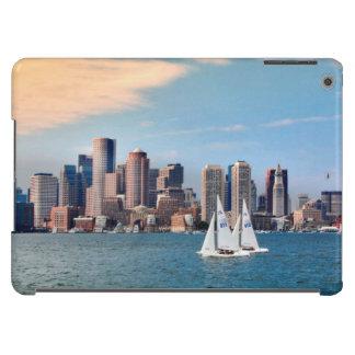 USA, Massachusetts. Boston Waterfront Skyline 3 iPad Air Cases