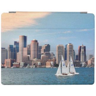 USA, Massachusetts. Boston Waterfront Skyline 3 iPad Cover