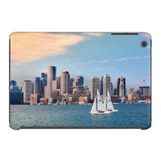 USA, Massachusetts. Boston Waterfront Skyline 3 iPad Mini Covers