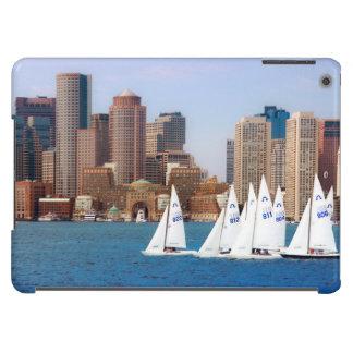 USA, Massachusetts. Boston Waterfront Skyline 4 Case For iPad Air