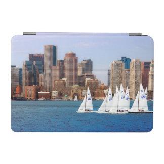 USA, Massachusetts. Boston Waterfront Skyline 4 iPad Mini Cover