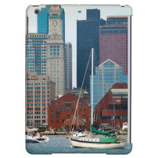 USA, Massachusetts. Boston Waterfront Skyline iPad Air Cover