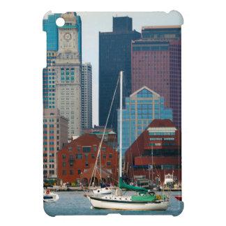 USA, Massachusetts. Boston Waterfront Skyline iPad Mini Cases