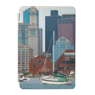 USA, Massachusetts. Boston Waterfront Skyline iPad Mini Cover