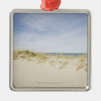 USA, Massachusetts, Cape Cod, Nantucket, sandy Christmas Ornament