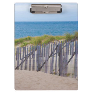 USA, Massachusetts. Dunes And Path Clipboard
