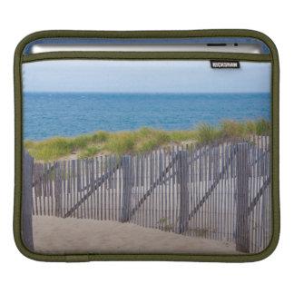 USA, Massachusetts. Dunes And Path iPad Sleeve
