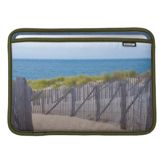 USA, Massachusetts. Dunes And Path Sleeve For MacBook Air