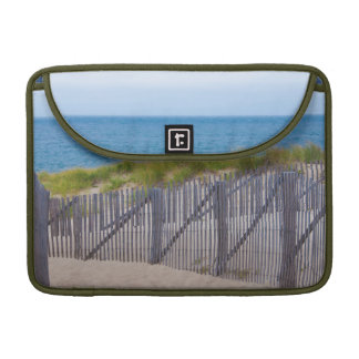 USA, Massachusetts. Dunes And Path Sleeve For MacBooks
