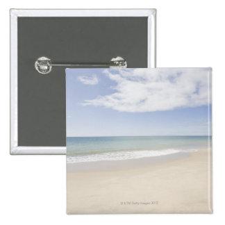 USA, Massachusetts, Empty beach 2 15 Cm Square Badge