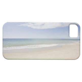 USA, Massachusetts, Empty beach 2 Barely There iPhone 5 Case