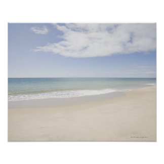 USA, Massachusetts, Empty beach 2 Poster