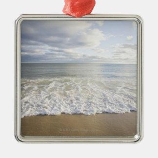 USA, Massachusetts, Empty beach Christmas Ornament