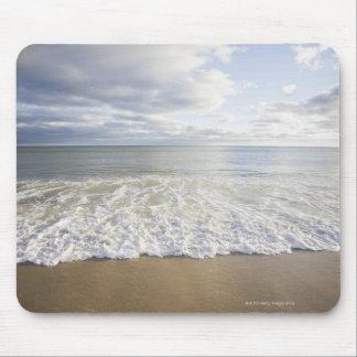 USA, Massachusetts, Empty beach Mouse Mat