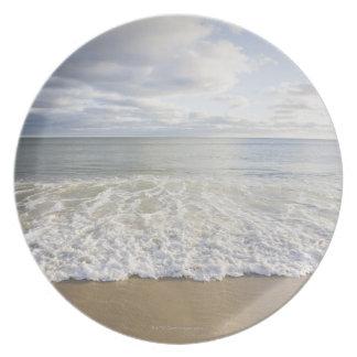 USA, Massachusetts, Empty beach Plate