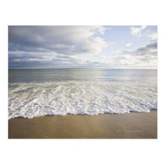 USA, Massachusetts, Empty beach Postcard