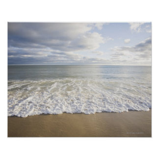 USA, Massachusetts, Empty beach Poster