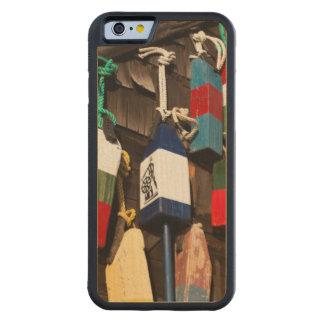 USA, Massachusetts, Gloucester, Lobster Buoys 2 Maple iPhone 6 Bumper Case