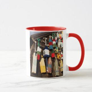 USA, Massachusetts, Gloucester, Lobster Buoys 2 Mug