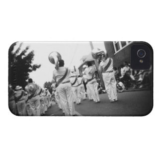 USA, Massachusetts, Gloucester. Marching band. 2 Case-Mate iPhone 4 Cases