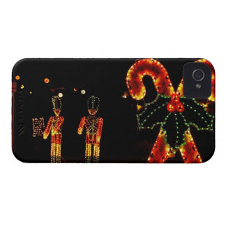USA, Massachusetts, Hyannis. Outdoor Christmas iPhone 4 Covers
