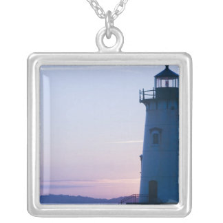 USA, MASSACHUSETTS, Martha's Vineyard: 2 Silver Plated Necklace