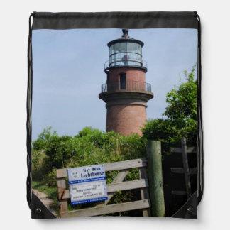USA, Massachusetts, Martha's Vineyard, Aquinnah. Drawstring Bag