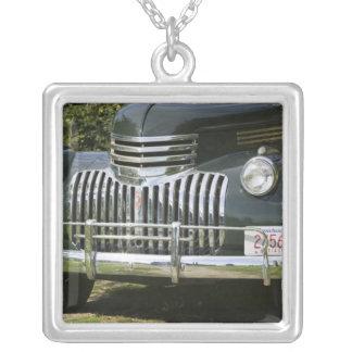 USA, MASSACHUSETTS, Martha's Vineyard: West 5 Silver Plated Necklace