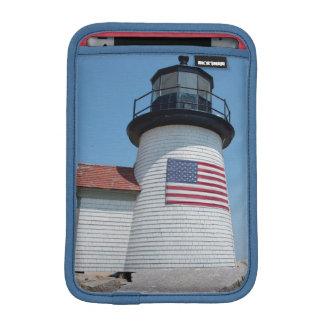 USA, Massachusetts, Nantucket. Brant Point iPad Mini Sleeve